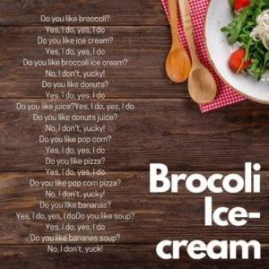 Brocoli Ice-cream